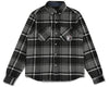 Billionaire Boys Club Fall '19 HEAVY CHECK SHIRT - BLACK