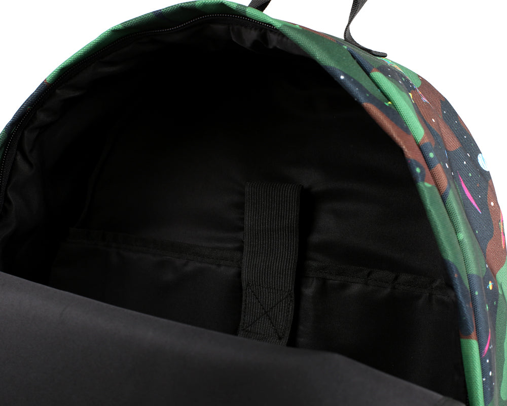 SPACE CAMO BACKPACK - BLACK