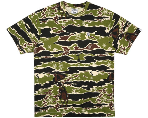 Billionaire Boys Club Pre-Spring '17 CAMO ALL OVER T-SHIRT - CAMO
