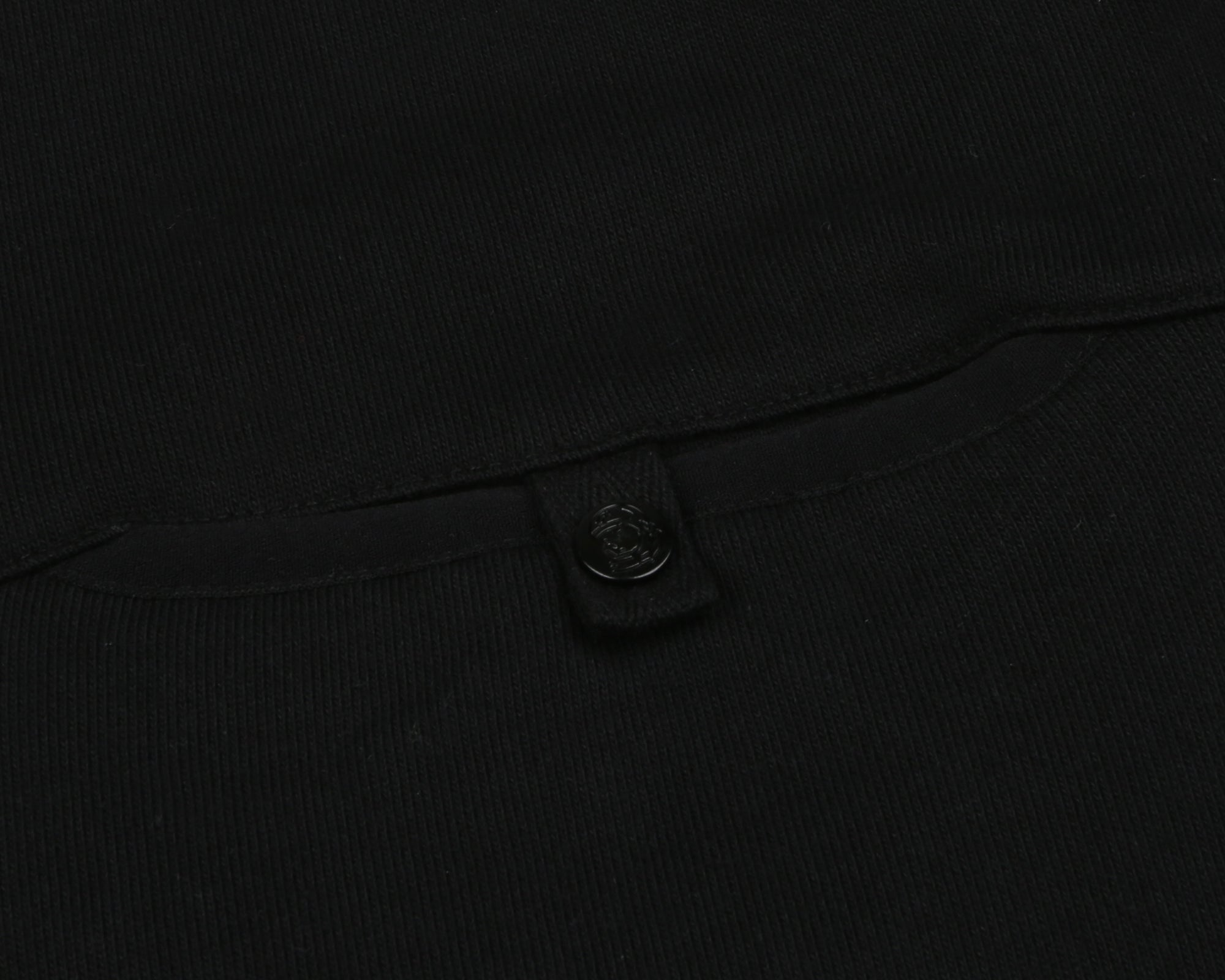 POCKET CREWNECK SWEATSHIRT - BLACK