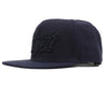 Billionaire Boys Club Pre-Fall '17 SCRIPT LOGO SNAPBACK CAP - NAVY