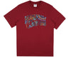 Billionaire Boys Club Fall '18 PAISLEY ARCH LOGO T-SHIRT - RED