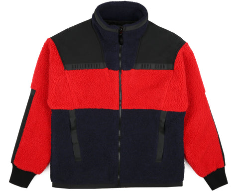 Billionaire Boys Club Fall '18 SHERPA FLEECE - RED