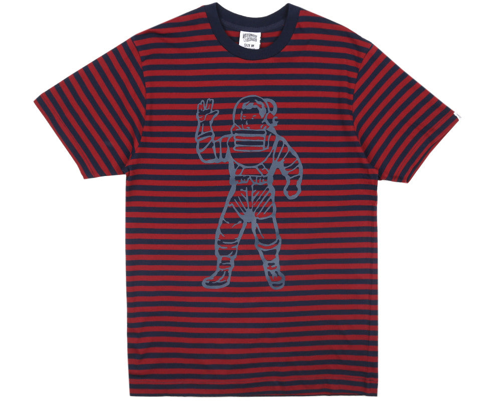 Billionaire Boys Club Pre-Spring '17 STANDING ASTRONAUT S/S T SHIRT - NAVY/ BURGUNDY
