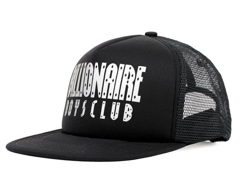 Billionaire Boys Club Fall '18 STRAIGHT LOGO TRUCKER CAP - BLACK
