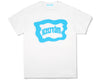 ICECREAM JAPAN ICECREAM LOGO T-SHIRT - WHITE/BLUE