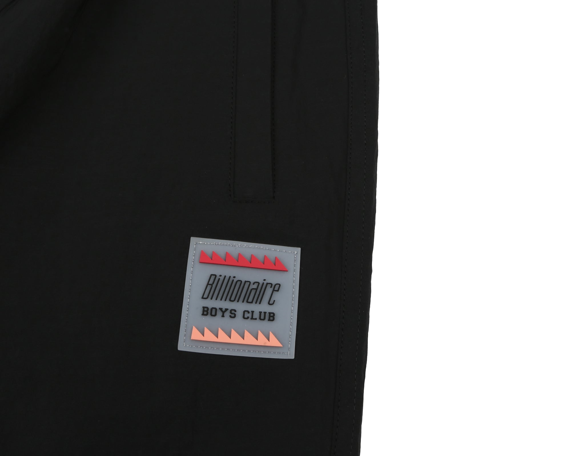 TECHNICAL NYLON TRACK PANT - BLACK