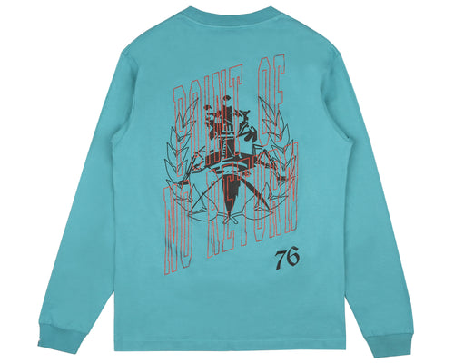 POINT OF NO RETURN L/S T-SHIRT - TEAL