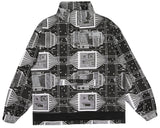 Billionaire Boys Club Pre-Spring '18 SKYSCRAPER 1/4 ZIP SMOCK - BLACK