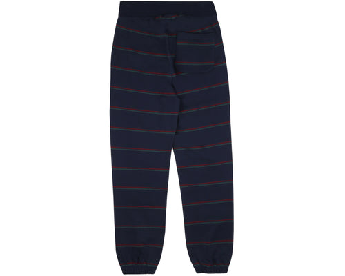 STRIPED SWEATPANT - NAVY