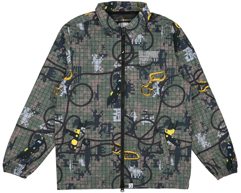 Billionaire Boys Club Fall '18 CLIMBING CAMO ZIP JACKET - CAMO