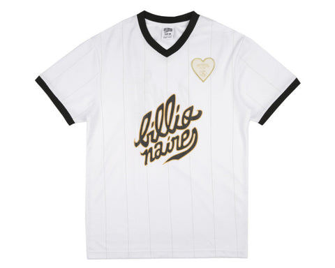 Billionaire Boys Club Spring '17 TEAM SOCCER JERSEY - WHITE
