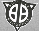 Billionaire Boys Club Pre-Spring '17 STRAIGHT LOGO S/S T-SHIRT - HEATHER GREY