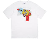 Billionaire Boys Club Pre-Spring '18 REVERSIBLE RAYGUN T-SHIRT - WHITE