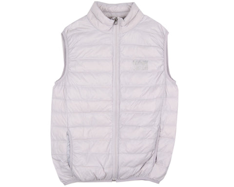BBCICECREAM INSULATED SAILING VEST - SILVER