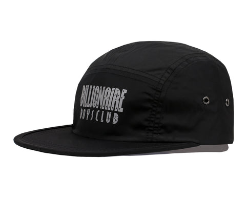 Billionaire Boys Club Spring '18 REFLECTIVE LOGO NYLON CAP - BLACK