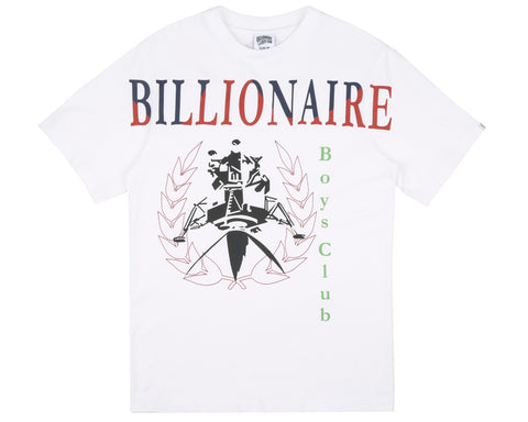 Billionaire Boys Club Fall '18 LANDER SOUVENIR T-SHIRT - WHITE