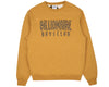 Billionaire Boys Club Pre-Fall '18 STRAIGHT LOGO REVERSIBLE CREWNECK - GOLDEN