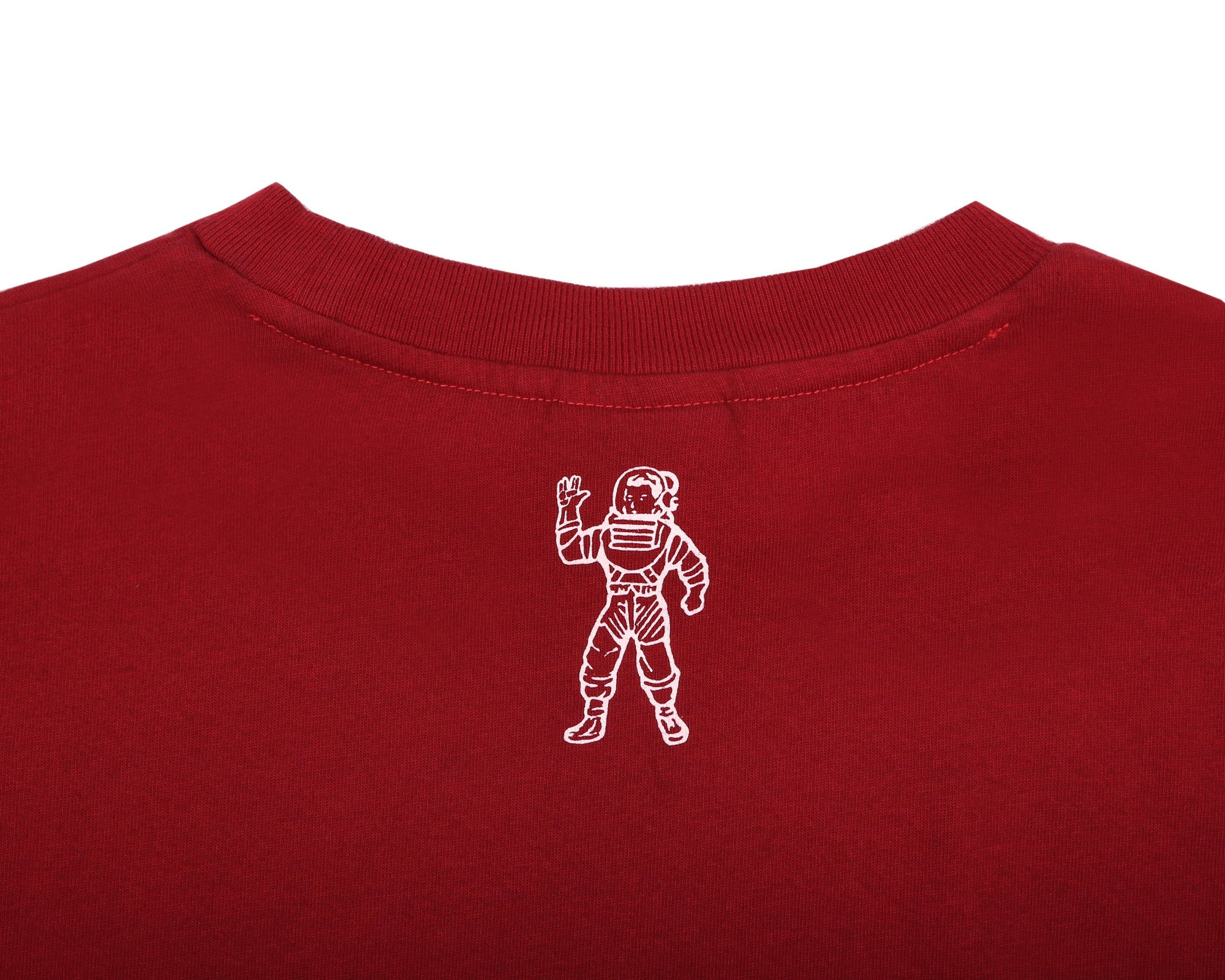 SMALL ARCH LOGO T-SHIRT - OVERDYED RED