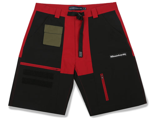 Billionaire Boys Club Fall '19 EXPEDITION TRAINING SHORT - RED