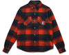 Billionaire Boys Club Fall '19 HEAVY CHECK SHIRT - ORANGE