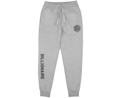 Billionaire Boys Club Spring '17 FLIGHT PATCH SWEATPANTS - HEATHER GREY