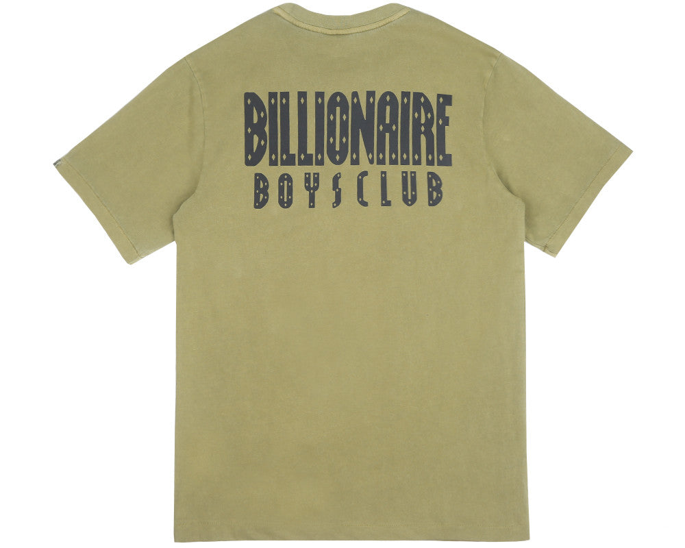 Billionaire Boys Club Fall '17 MILITARY OVERDYE T-SHIRT - OLIVE