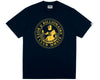 Billionaire Boys Club Pre-Fall '19 POSEIDON FLOCK PRINT T-SHIRT - NAVY