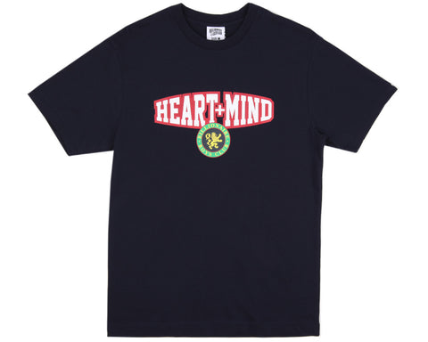 BBCICECREAM HEART + MIND T-SHIRT - NAVY