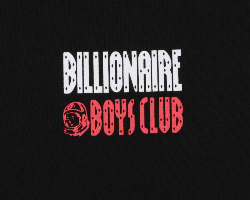 Billionaire Boys Club Spring '17 SATELLITE FLIGHT T-SHIRT - BLACK