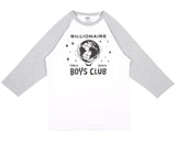 Billionaire Boys Club Pre-Spring '17 BILLION DOLLAR FAIR RAGLAN T SHIRT - WHITE