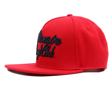 Billionaire Boys Club Fall '17 SCRIPT LOGO SNAPBACK RED