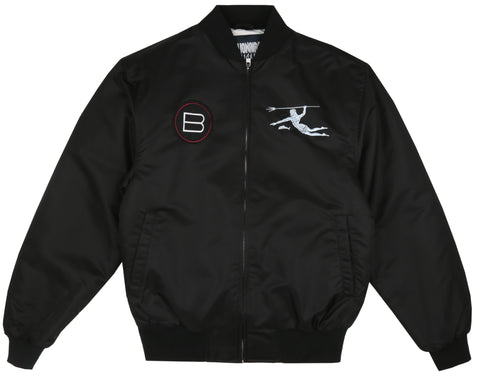 Billionaire Boys Club Pre-Fall '19 NEPTUNE TEAM JACKET - BLACK