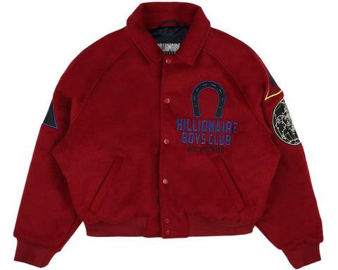 Billionaire Boys Club Spring '19 CAR CLUB JACKET - RED