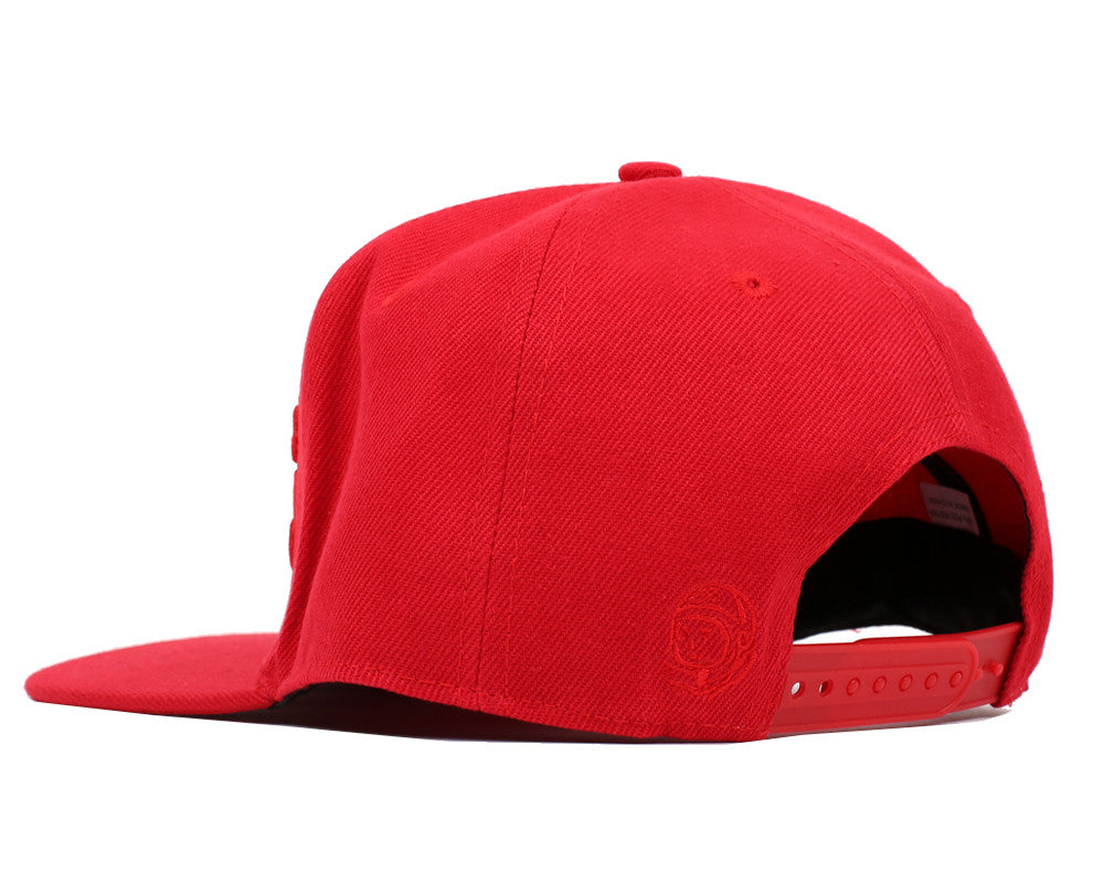 Billionaire Boys Club Pre-Fall '17 SCRIPT LOGO SNAPBACK CAP - RED