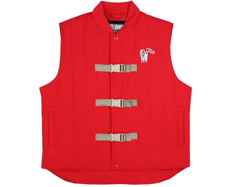 Billionaire Boys Club Pre-Fall '19 PADDED LIFESAVER VEST - RED