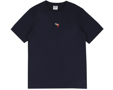 Billionaire Boys Club Pre-Spring '18 RAYGUN EMBROIDERED T-SHIRT - NAVY