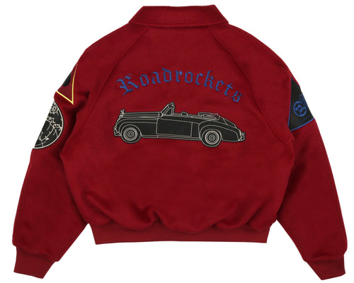 CAR CLUB JACKET - RED