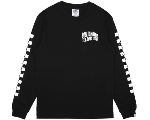 BBCICECREAM MECHANICS L/S T-SHIRT - BLACK