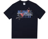 Billionaire Boys Club Spring '18 PEACE THROUGH UNDERSTANDING T-SHIRT - NAVY