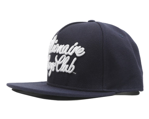 Billionaire Boys Club Fall '17 SCRIPT LOGO SNAPBACK NAVY