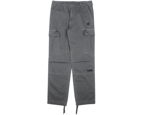 Billionaire Boys Club Fall '17 MILITARY OVERDYED CARGO PANTS - DARK GREY