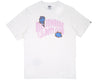 Billionaire Boys Club Pre-Spring '18 DAMAGED LOGO T-SHIRT - WHITE