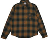 Billionaire Boys Club Pre-Fall '18 HELMET PRINT CHECK SHIRT - GREEN