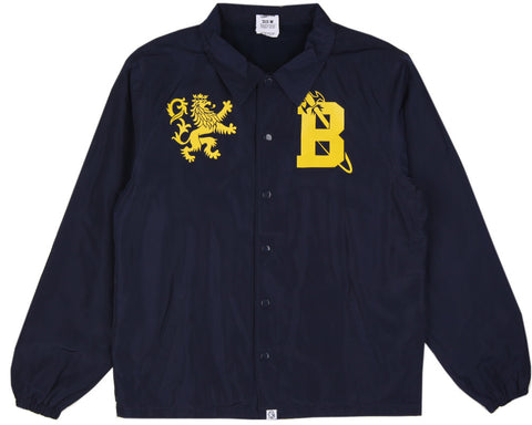 Billionaire Boys Club Fall '16 CREST COACH JACKET - NAVY