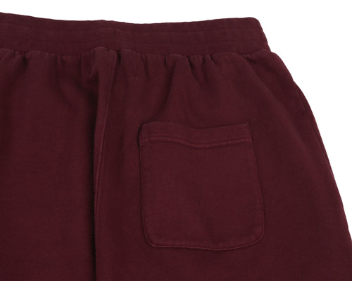 RACING LOGO SWEATPANT - BURGUNDY