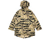 BBCICECREAM SPACE PARK FISHTAIL PARKA - CAMO