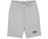 BBCICECREAM Small Arch Logo Sweatshorts - Heather Grey