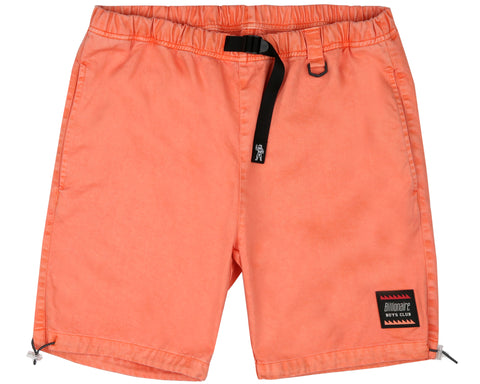 Billionaire Boys Club Pre-Fall '19 OVERDYED COTTON SHORTS - CORAL