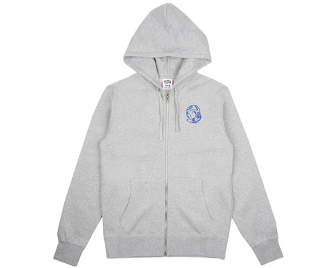 Billionaire Boys Club Pre-Spring '17 ALLIANCE ZIP THROUGH HOOD - HEATHER GREY
